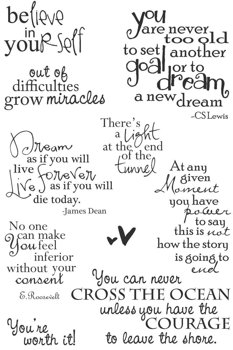 Sarah - believe in yourself